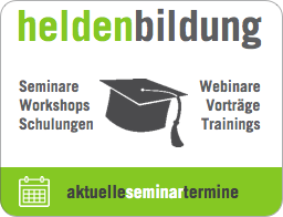 Seminare, Webinare, Workshops, Trainings, Vorträge der Marketingberatung Die Heldenhelfer